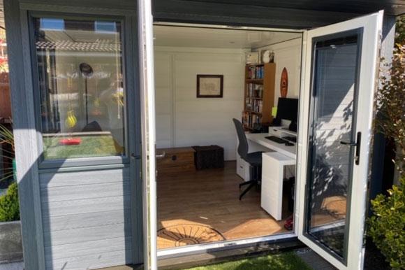 Composite Garden Office Staffordshire