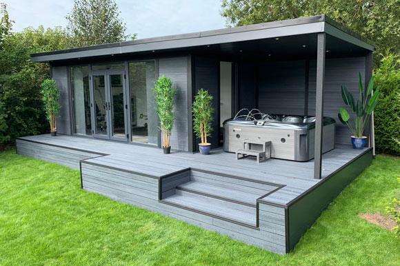 Hot Tub Garden Studio Staffordshire