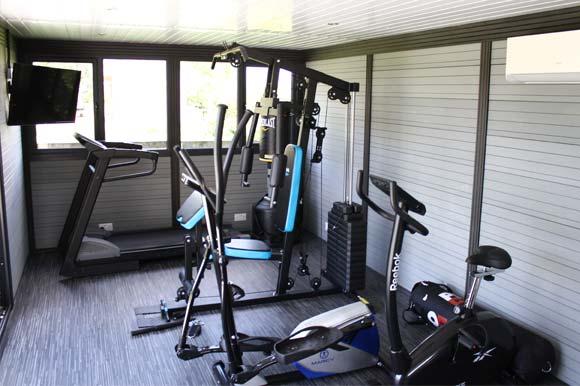 Garden Gym Retreat Staffordshire